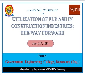Utilization Of Fly Ash In Construction Industries